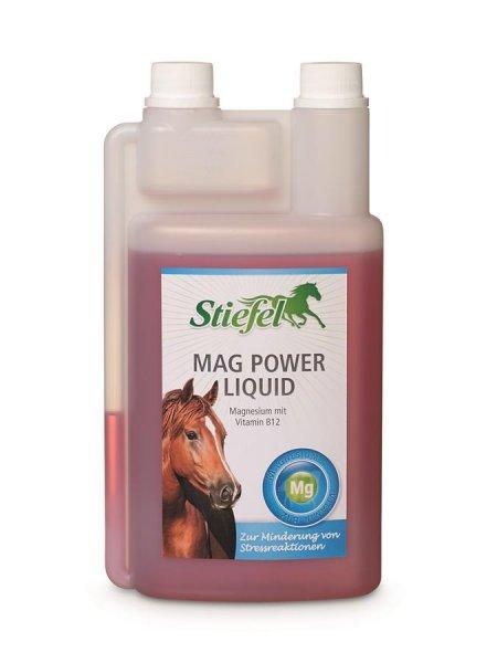Stiefel Mag Power Liquid til heste, 1 ltr.