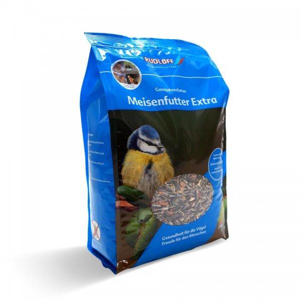 Rudloff Mejsefoder Extra til vildtfugle, 2 kg