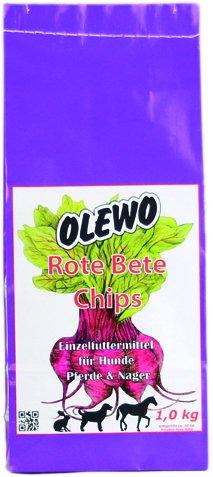 Olewo rødbeder-chips, 1 kg
