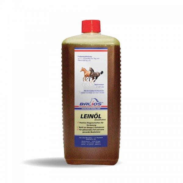 Balios Hørfrøolie til heste, 1 ltr.