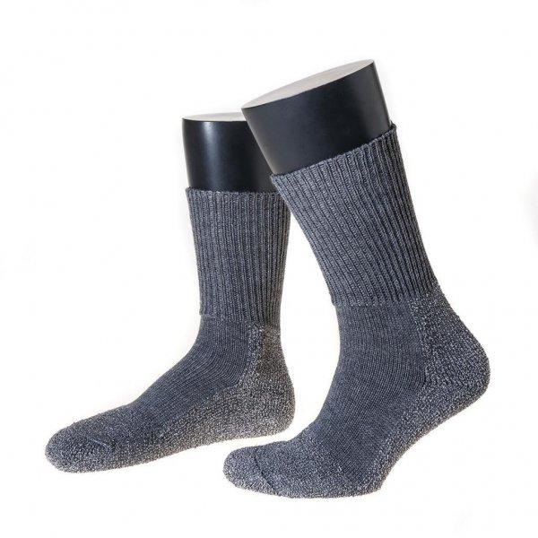 Nordpol Funktionssokke F2 med splittingfodsål lang, grå